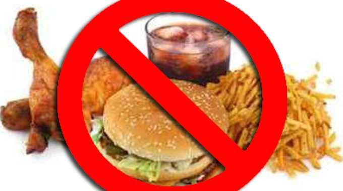 Image result for no junk food
