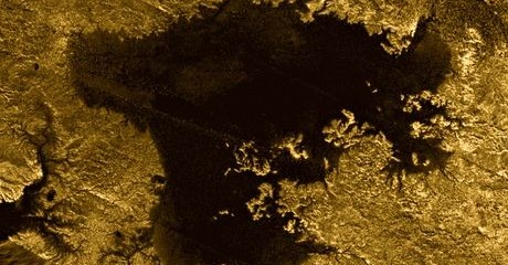 Mystery Object on Saturn's Moon Titan Intrigues Scientists