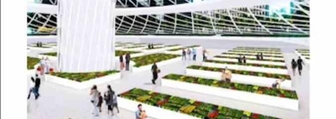 Urban Skyfarm Concept to Provide Inner City Farming Space