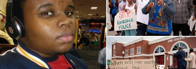 Police Shooting of Mike Brown, An Unarmed Black Teenager, Sparks Protests in Missouri