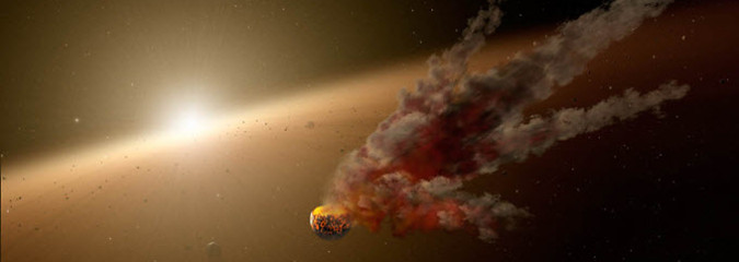 Earth and Space Weather News August 29, 2014: Huge Plasma Filament, Asteroid Smashup, Storm Alerts