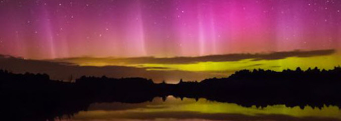 Earth and Space Weather News August 21, 2014: Magnificent Auroras¸Solar Pole Reversal
