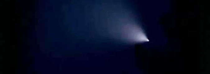 Mysterious Light in the Sky Witnessed by Thousands