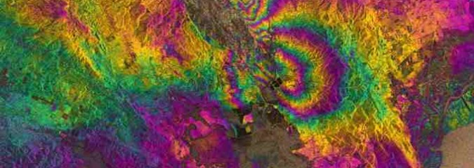 Earth and Space Weather News Sept 3, 2014: Large Filament Erupts, Napa Valley Quake on Radar Vision