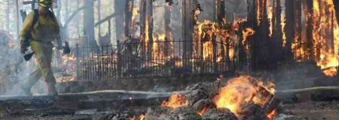 Earth and Space Weather News Sept 16, 2014: Rare Quakes, California Wildfires, Flood Alert, Protons Spike