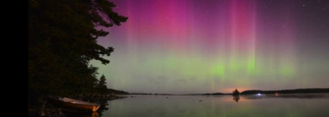 Earth and Space Weather News Sept 15, 2014: New Ice Record, Aurora Borealis, Proton Spikes