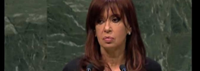 The U.N. General Assembly Speech by Argentina President Cristina Fernandez They Don't Want You To See