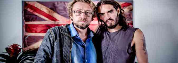 Russell Brand & Daniel Pinchbeck: Shifting Consciousness & The System