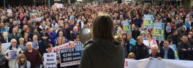 'Unprecedented Mobilization': Hundred Thousand Rise Against Irish Water Tax