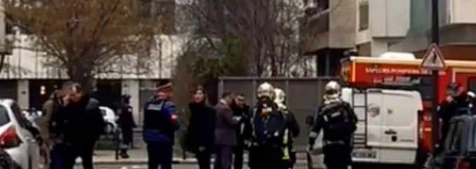 Shooting at French Satirical Weekly Charlie Hebdo in Paris, 12 Dead