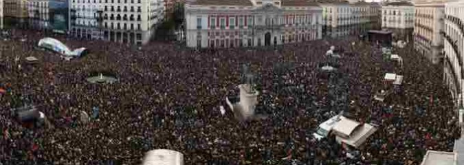 Launching 'New Era of Political Change,' Tens of Thousands March in Madrid