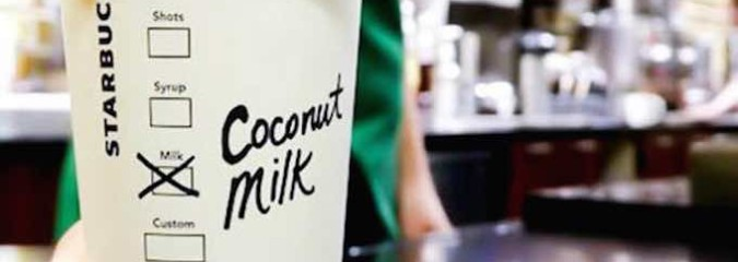 What's Really in Starbucks' New Coconut Milk Option?