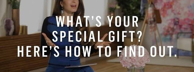 How To Find Your Special Gift, Even If You Don't Think You Have One – Marie Forleo