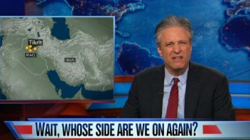 "Jon Stewart: ""We Finally Figured Out How to Fight a Proxy War Against Ourselves"""