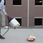 Watch Cool New Fire Extinguisher Douse Flames with Sound Waves