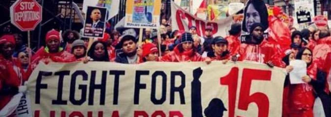 Fight for $15: On Worldwide Day of Action, Workers Demand Livable Wages