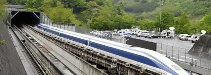 Japan's Maglev Train Sets New World Record With 603kph (375mph)