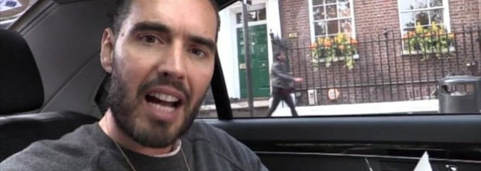 "Russell Brand: ""The Most Terrifying Thing You've Ever Heard"""