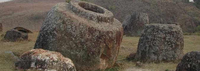 Did Giants Drink Out of Urns at the Mysterious Plain of Jars in Laos