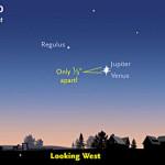 Tonight (June 30): Venus & Jupiter to Pair in Spectacular 'Star of Bethlehem' Conjunction