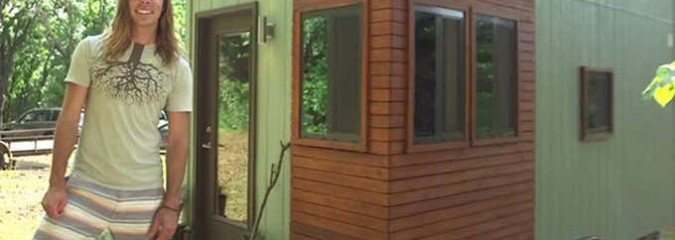 Student Builds Lovely Tiny Home For $20,000 to Reduce His School Debt