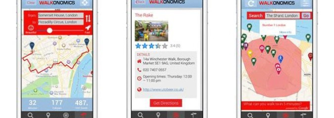 New App Walkonomics Shows You the Most Nature-Filled Route to Where You Want to Go