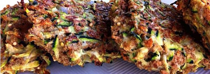 Got Garden Zucchini? Try These Zucchini Fritters With Avocado Dill Dip