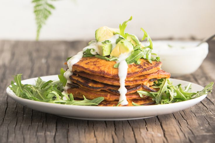 ... no gluten, this will be your new fav pancake recipe. Sweet or savory