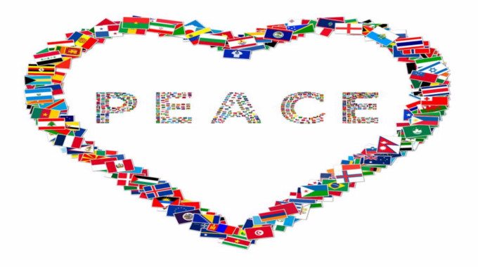 the chaos that brought peace to the world A prayer for peace in our country and world give us peace bring an end to don't let me rush so quickly into peace that i fail to learn from the chaos.