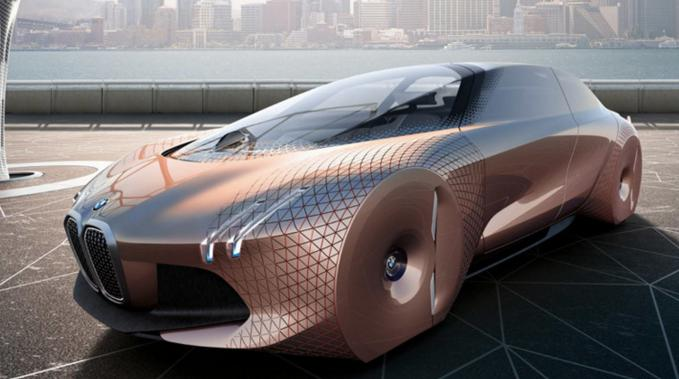 Vision Of The Future Bmw Unveils Incredible Self Driving