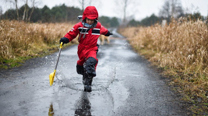 Image result for Jumping into puddles