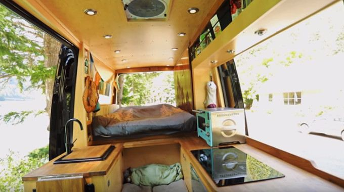 Hit The Road Check Out This Brilliant Van Conversion That Even Comes With A Shower Conscious Life News