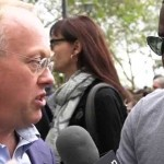 "Chris Hedges at Flood Wall Street: ""Capitalism Exploits Humans"""