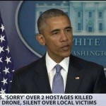 Obama Apologizes For Drone Killing Westerners But NOT Other Innocents