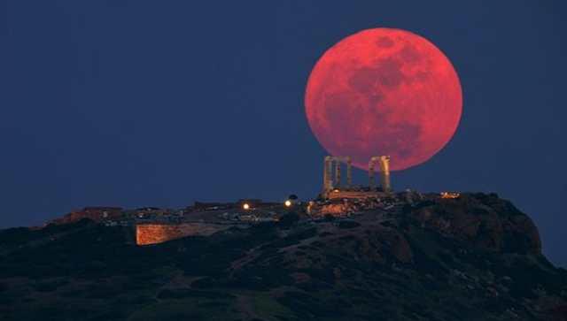 blood moon july 2018 greece - photo #27