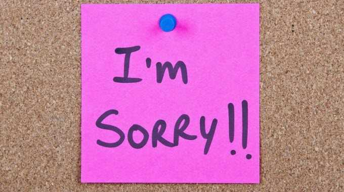 Im sorry isnt enough here are the 3 steps to apologizing im sorry altavistaventures Choice Image