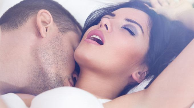 Kissing busty tits foreplay and doctor