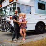 Tiny House Must-See – Couple Converts a School Bus So Well You Won't Believe It's a Bus