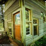 This Small (But Tall) Forest Cabin Was Built From Salvaged Materials for Only $800