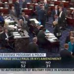 U.S. Senate Betrays Constitution, Fails To Stop Perpetual War Policy